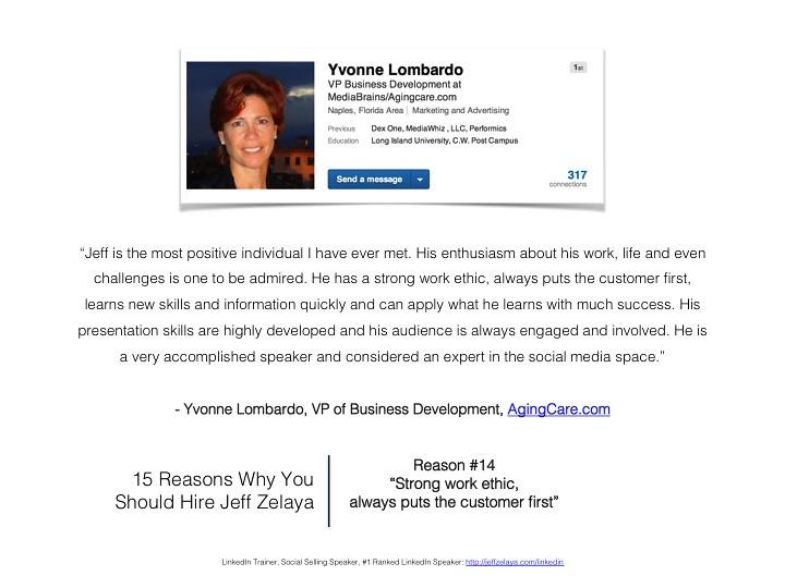 Yvonne Lombardo Reviews Social Media Expert: Jeff Zelaya - Flickr