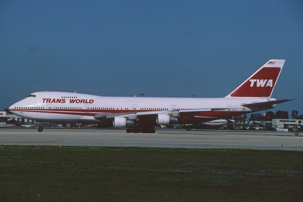 Image result for TWA 747-200