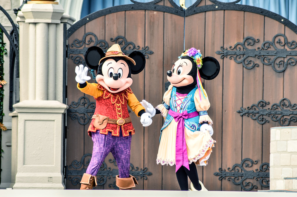 Friendship Faire Mickey Minnie