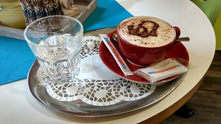 Cappuccino in der Jugendherberge Oberwesel | by Frank Hamm
