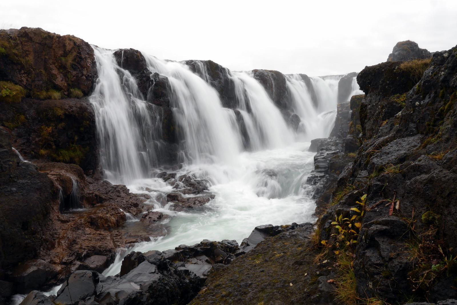 Silky Kolugljúfur Falls
