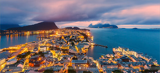 Sunset Alesund - Norway | by ~ Floydian ~