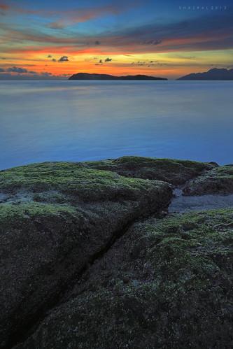 sunset canon eos malaysia langkawi kedah pantaitengah leefilters azralfikri shazral 5dmark2
