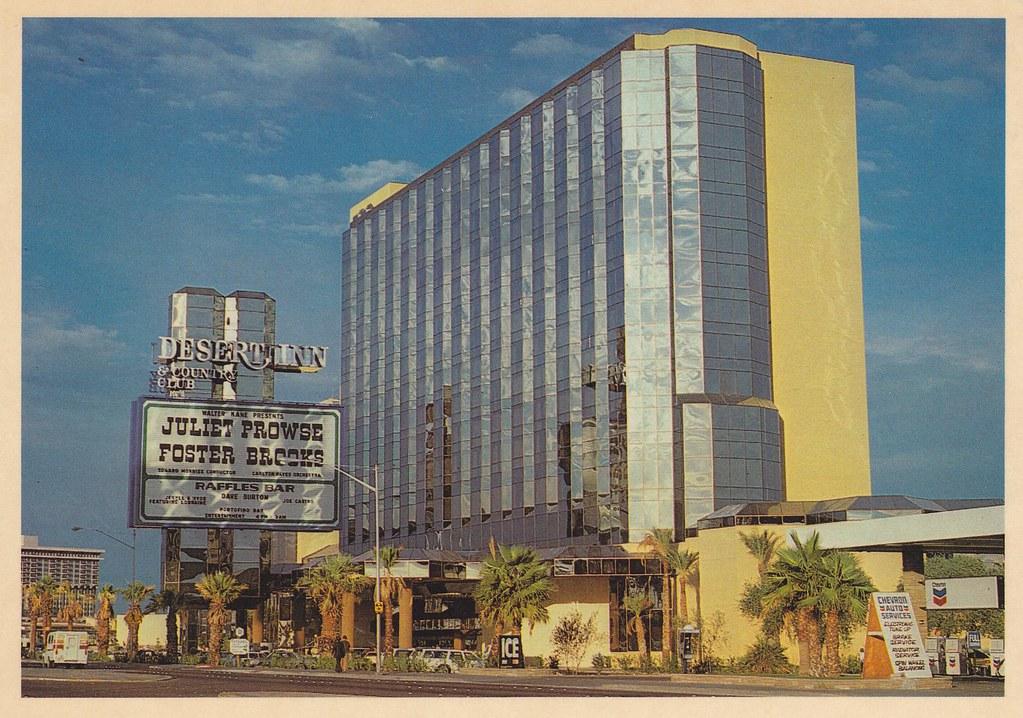 RETRO LAS VEGAS: 1980s Desert Inn Hotel Postcard | In 1977 ...