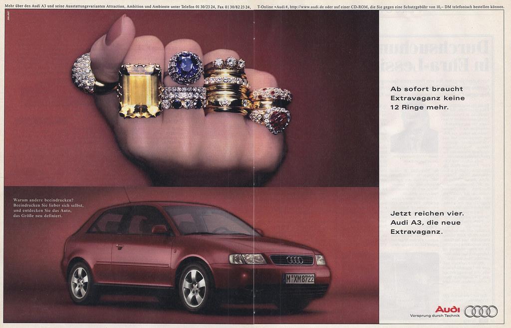 Reklame Audi A3 1996 Jens Lilienthal Flickr