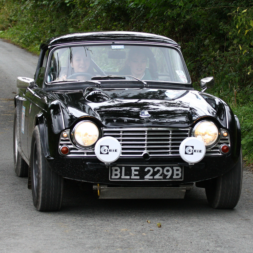 1964 Triumph Tr4 Ble229b Vale Of Clwyd Classic Rally C Flickr