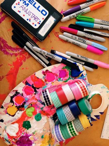 Favorite Supplies   by Tamara Hala
