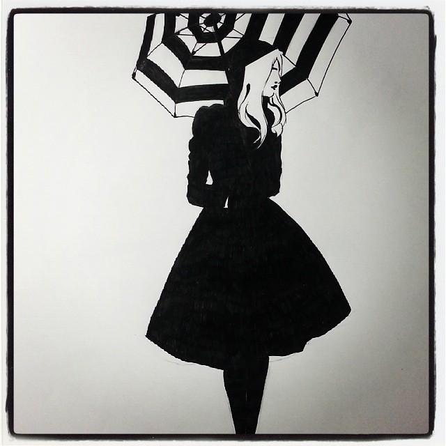 Ink Instaart Pen Ink Design Fashion Illustration I Flickr