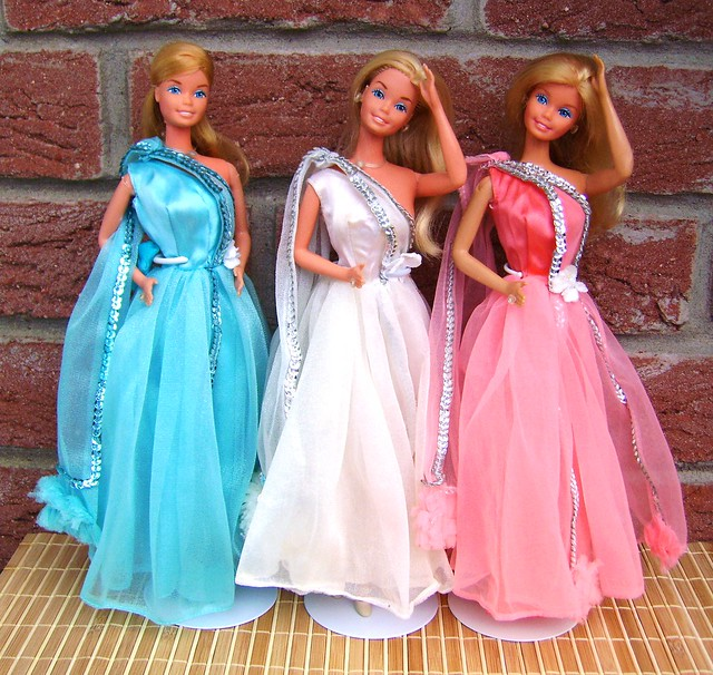 Superstar Barbie Gown (All 3 Variations)