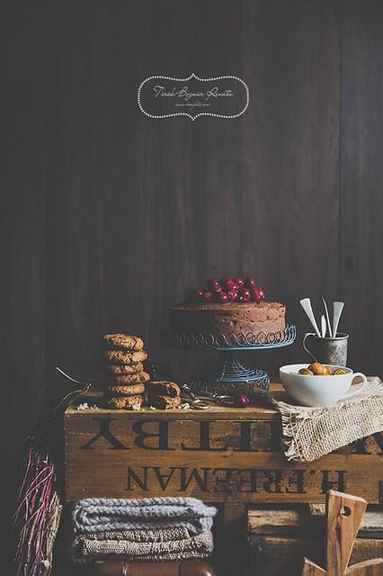 Desserts with chestnut