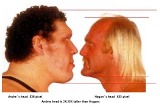 Andre the Giant Hulk Hogan | by andrethegiantrousimoff