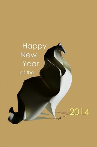 Happy New Year 2014!   by ORI_Q