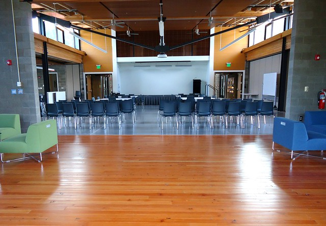 Community Room, theater seating