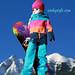 Sindy wears snowboarding brand Burton