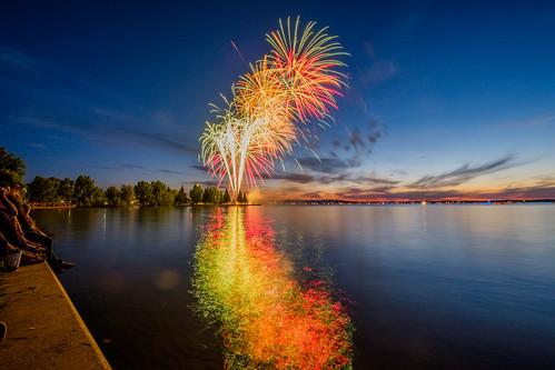 Sylvan Lake Fireworks   by Alanpaone