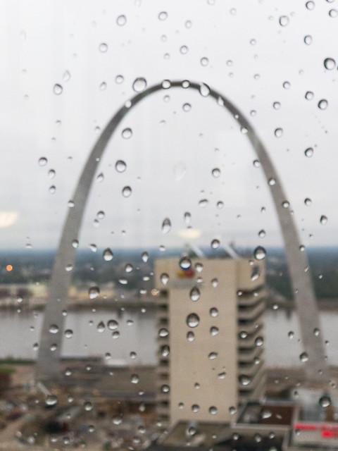 Rainy Arch View