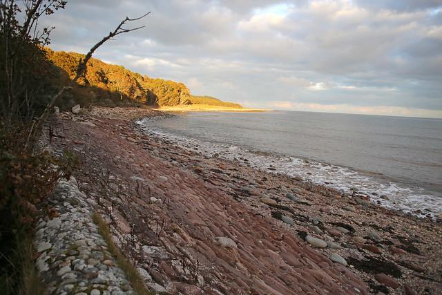 The beach near Dunrobin Castle