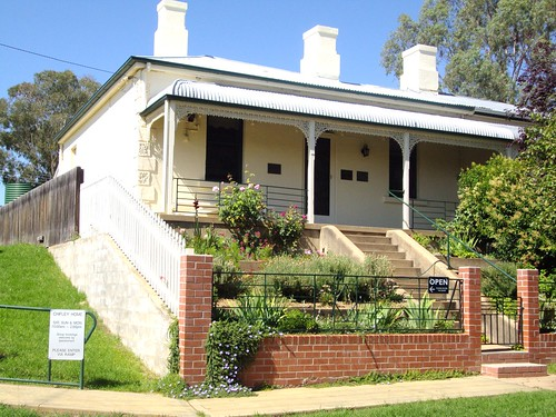 Ben Chifley House in Bathurst home to Australia's  post war time Prime Minister 1945 1949. Now a small museum. | by denisbin