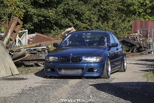 Marcus's BMW E46 3 Series 320D   by MDB Images