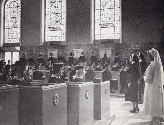 Maria College Chapel Sisters of Mercy 1969 Albany NY