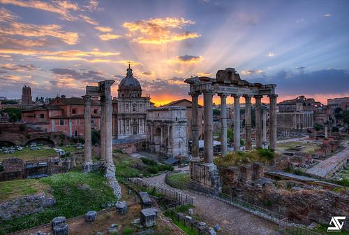 italy rome roma sunrise nikon italia forum ag nikkor dri hdr italie anto d800 romanum xiii antoxiii agphotographe