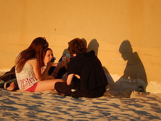 Friends and Their Shadows   by mikecogh