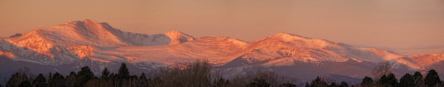 Mount Evans Pre-dawn Panorama - Explore 12/26/2013 #362
