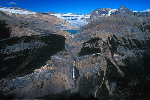 Takakkaw Falls, Yoho National Park, Rocky Mountains, BC Rockies, British Columbia