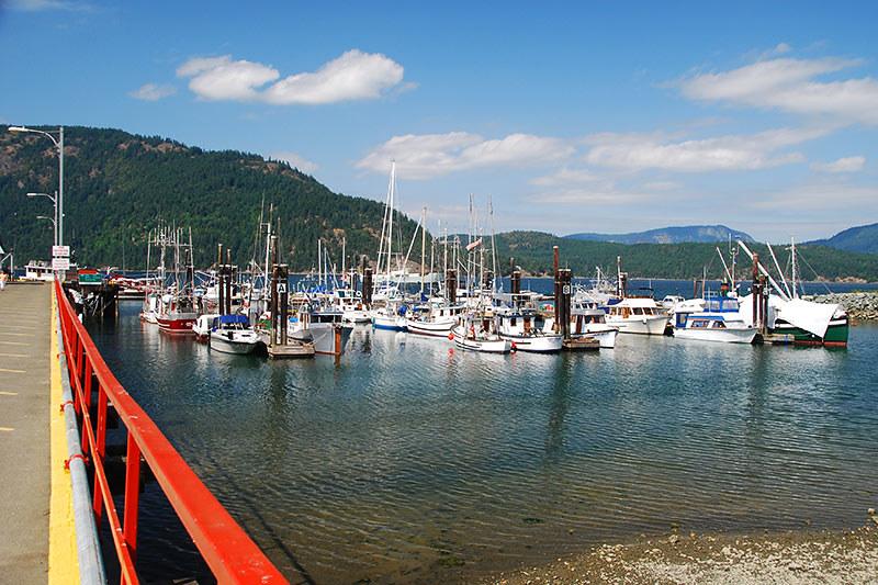 Cowichan Bay, Cowichan Valley, Vancouver Island, British Columbia, Canada