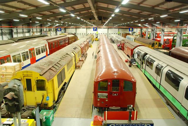 London Transport Museum Depot, Acton