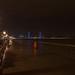 https://www.twin-loc.fr 31/01/2014 20h00 - Bordeaux inondation Quai des Marques Garonne overflow Pont Chaban Delmas - Picture Image Photo Photography