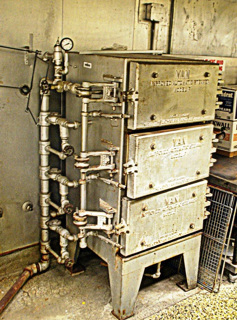 Steampunk Kitchen Original 1930 Food Steamer Salmon Bay