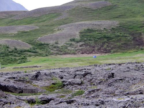 IJsland - Reykjahlio - camping