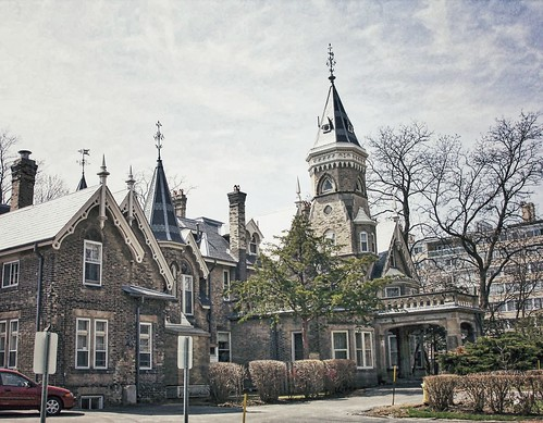 school house toronto ontario canada castle heritage college architecture de see la education catholic view rear gothic towers victorian style landmark tourist historic christian historical mansion cyrus must attraction salle oaklands ih mccormick on internationalharvester onasill