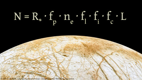 Europa Rising - Drake Equation | by Kevin M. Gill