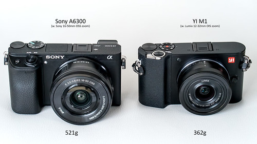 Sony A6300 with 16-50mm Zoom, Yi M1 with Lumix Vario 12-32mm Zoom | by H.Hackbarth