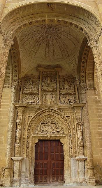 Pórtico del monasterio de la Piedad