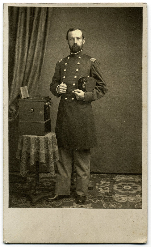 A Minnesota Colonel With Table Top Stereoscope