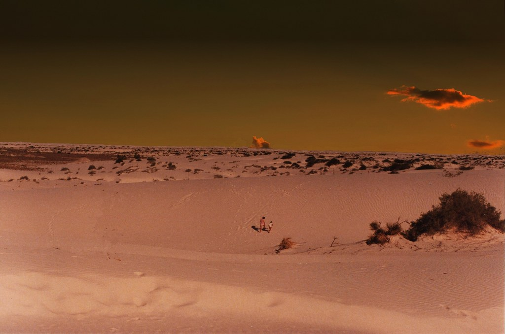 White Sands National Monument ~ New Mexico ~ Old Film