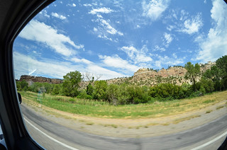 On the road in Wyoming   by m01229