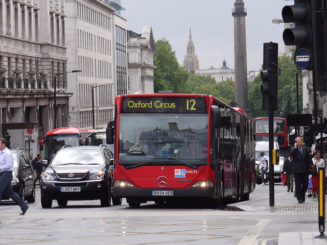 Go Ahead London Central MAL93 (BX54UEB)