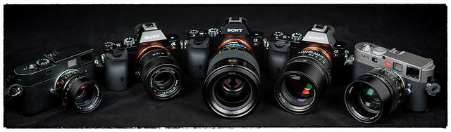 Adorable 50s (Leica Summilux + Noctilux, Zeiss Otus + FE, SLR Magic HyperPrime CINE)