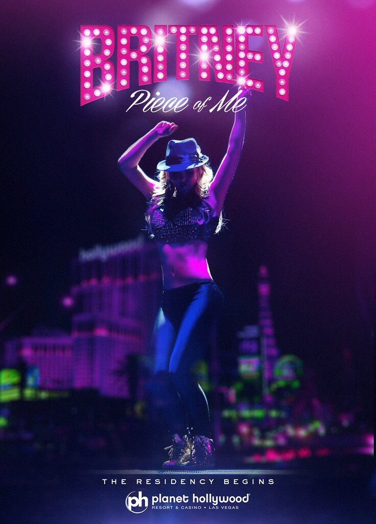 Britney Spears Piece Of Me Live In Las Vegas Poster Flickr