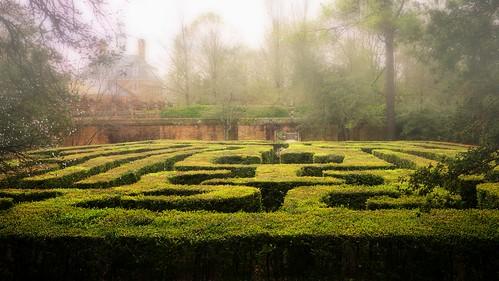 virginia palace historic governor williamsburg maze