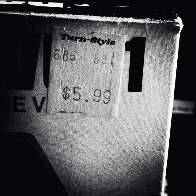 Turn-Style $5.99 [b&w]