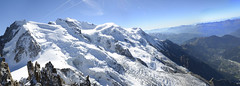 Panorama du Mont Blanc