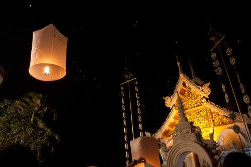 NYE, Chiang Mai   by Andrea Schaffer