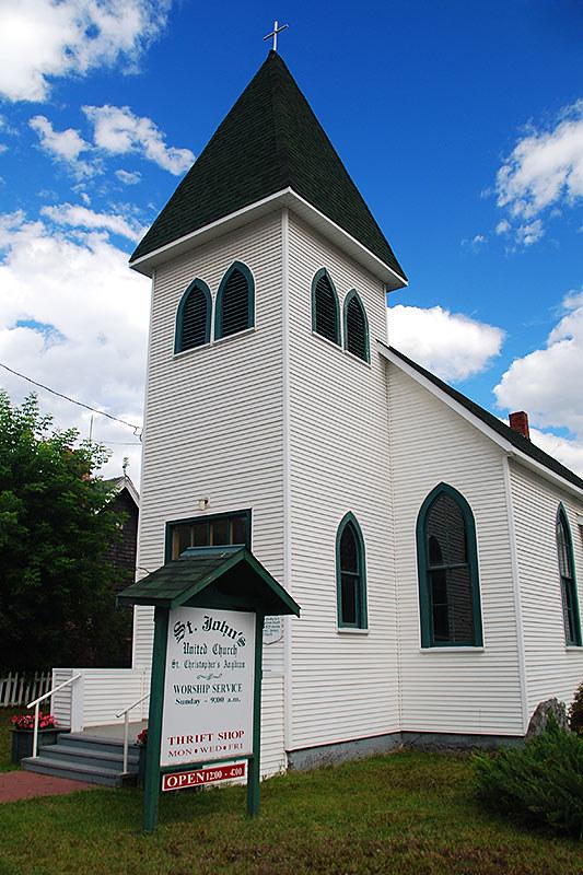 St. Johns United Church, Clinton, Highway 97, Cariboo, British Columbia, Canada