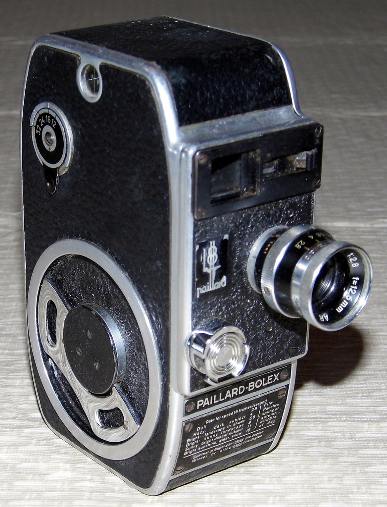 8Mm Vintage Camera vintage paillard-bolex 8mm movie camera | joe haupt | flickr