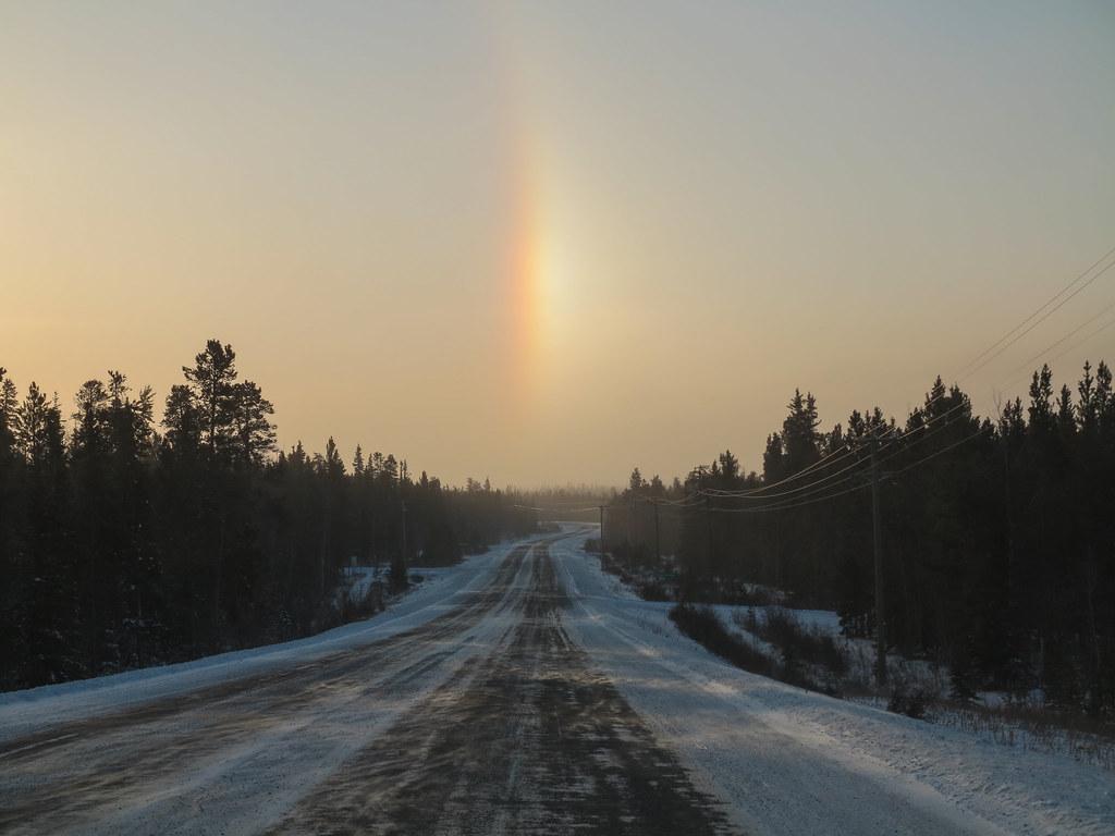 Traveling Light B&B - Une yourte au Yukon